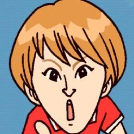 レフェリー伊東幸子似顔絵